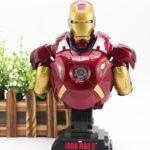 Iron Man Avengers MARK 7 Bust Figure with LED Light 9inch5