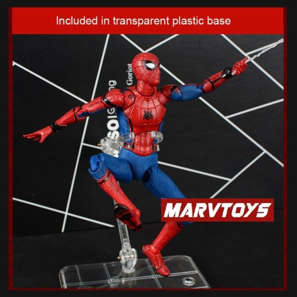 Spider Man Homecoming Movie Peter Parker Action Figure 6inch 5