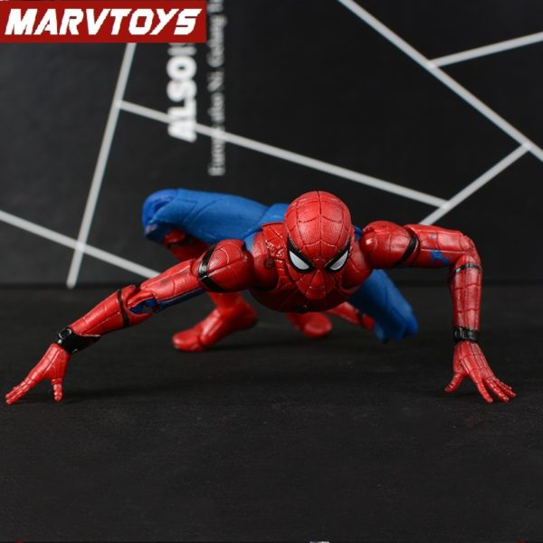 Spider Man Homecoming Movie Peter Parker Action Figure 6inch 7