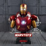 Iron Man Avengers MARK 7 Bust Figure with LED Light 9inch