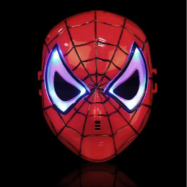 Spider Man Mask Eyes with LED Light for Kids Children 2
