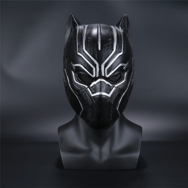 Black Panther Civil War Movie T'Challa Latex Mask for Adults 1