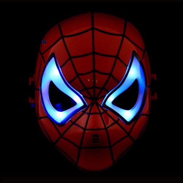 Spider Man Mask Eyes with LED Light for Kids Children 1