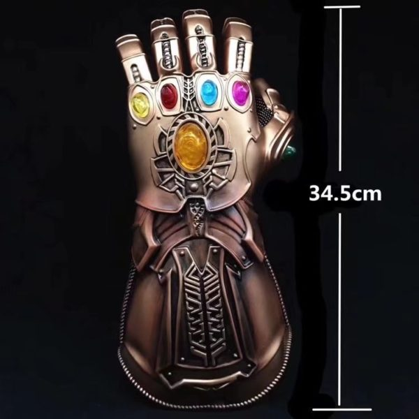 Thanos Infinity Gauntlet With Led Light Cosplay Avengers Infinity War 13.5 inch 7