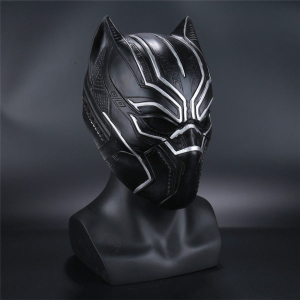 Black Panther Civil War Movie T'Challa Latex Mask for Adults 2