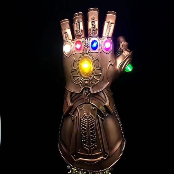 Thanos Infinity Gauntlet With Led Light Cosplay Avengers Infinity War 13.5 inch