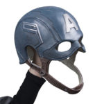 Captain America Latex Mask Steven Rodgers The Avengers Age of Ultron For Adult 3