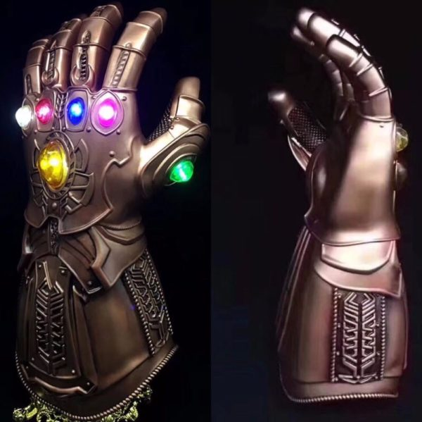 Thanos Infinity Gauntlet With Led Light Cosplay Avengers Infinity War 13.5 inch 6