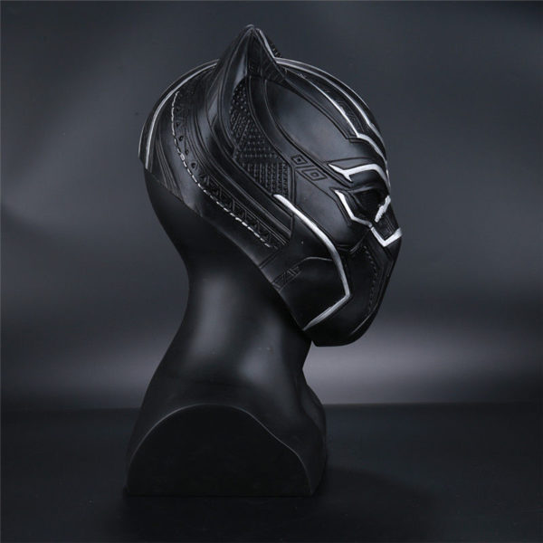 Black Panther Civil War Movie T'Challa Latex Mask for Adults 3