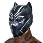 Black Panther Civil War 3D Latex Mask T'Challa