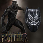 Black Panther Civil War Movie T'Challa Latex Mask for Adults