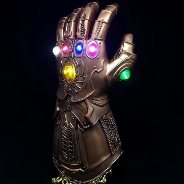 Thanos Infinity Gauntlet With Led Light Cosplay Avengers Infinity War 13.5 inch 2