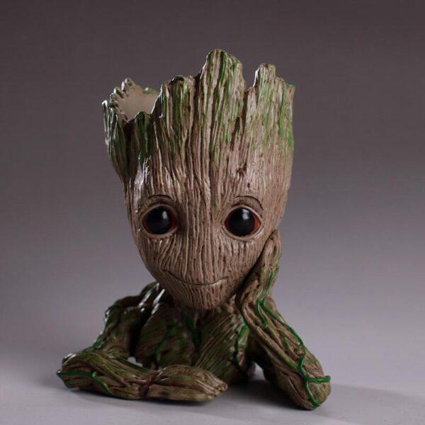 Baby Groot Planter Pot Infinity War Home Decor Marvtoys