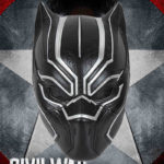 Black Panther Civil War Basic Mask Costume 7