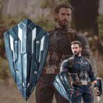 Captain America Steve Rogers New Vibranium Shield Avengers Infinity War (Third Design) 9