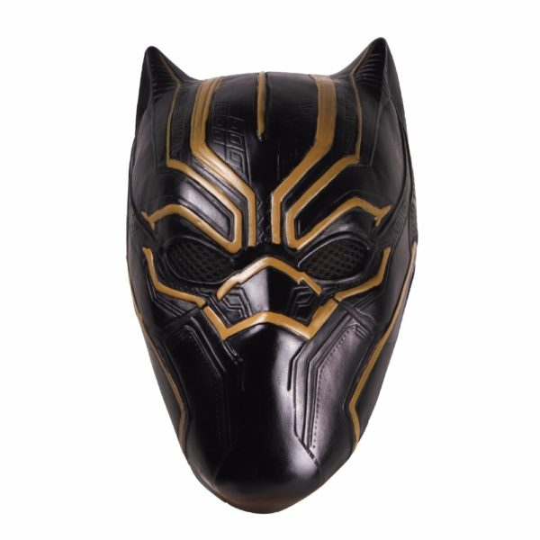 Erik Killmonger Latex Mask Black Panther Movie for Adults