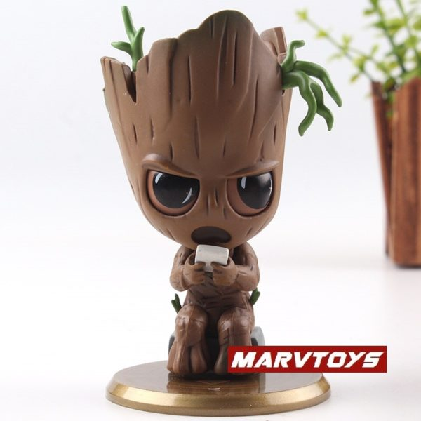 Groot Collectible Figure Bobble Head Avengers Infinity War 4inch 3