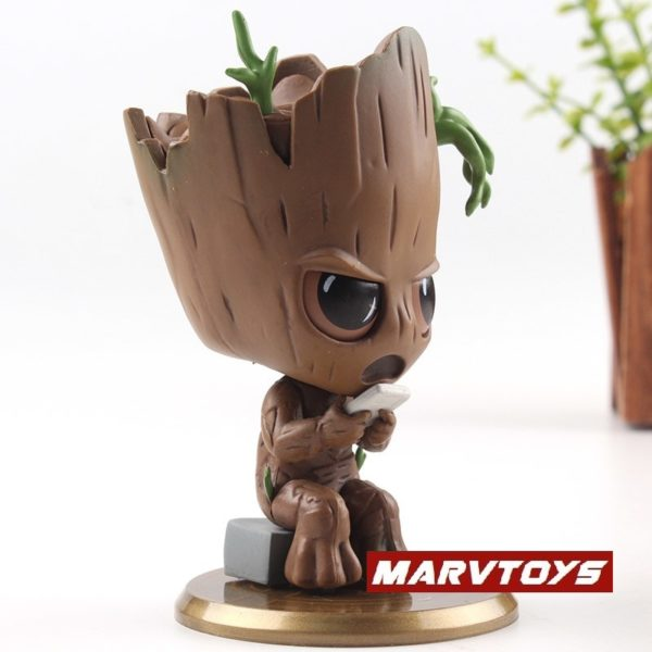 Groot Collectible Figure Bobble Head Avengers Infinity War 4inch2
