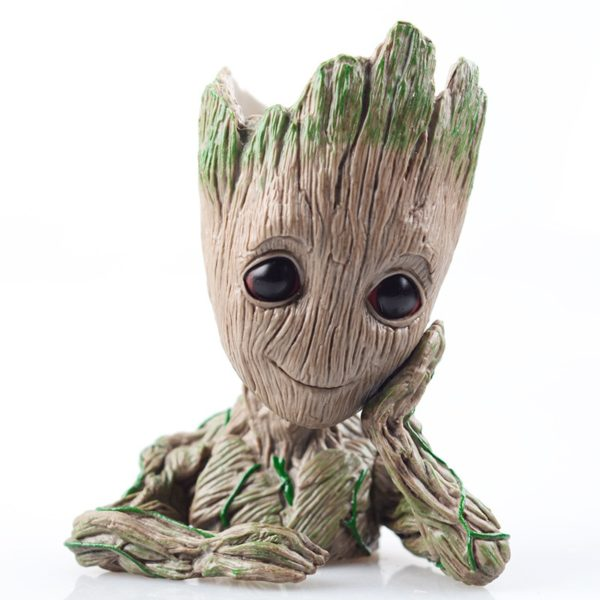 Kid Groot Figure Planter Pot Flowerpot Guardians Of The Galaxy 2