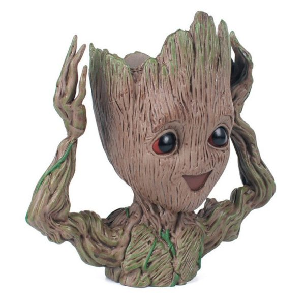 Kid Groot Figure Planter Pot Flowerpot Guardians Of The Galaxy 3