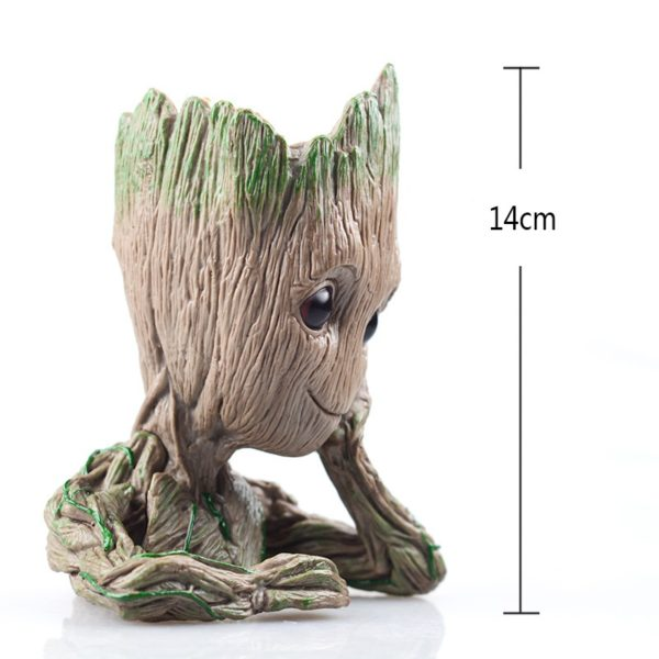 Kid Groot Figure Planter Pot Flowerpot Guardians Of The Galaxy 5