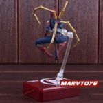 Spider Man Iron Spider Action Figure Marvel Avengers Infinity War Movie Edition 5.5inch
