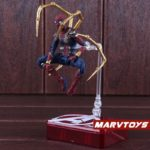 Spider Man Iron Spider Action Figure Marvel Avengers Infinity War Movie Edition 5.5inch3