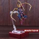 Spider Man Iron Spider Action Figure Marvel Avengers Infinity War Movie Edition 5.5inch4