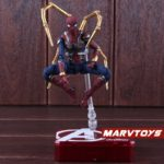 Spider Man Iron Spider Action Figure Marvel Avengers Infinity War Movie Edition 5.5inch6