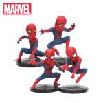 Spider Man Mini Figures Set of 4 Amazing Spiderman 1