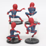 Spider Man Mini Figures Set of 4 Amazing Spiderman 2