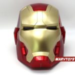 Iron Man Helmet Mask for Adult Cosplay with LED Lights and Touch Sensitive 2