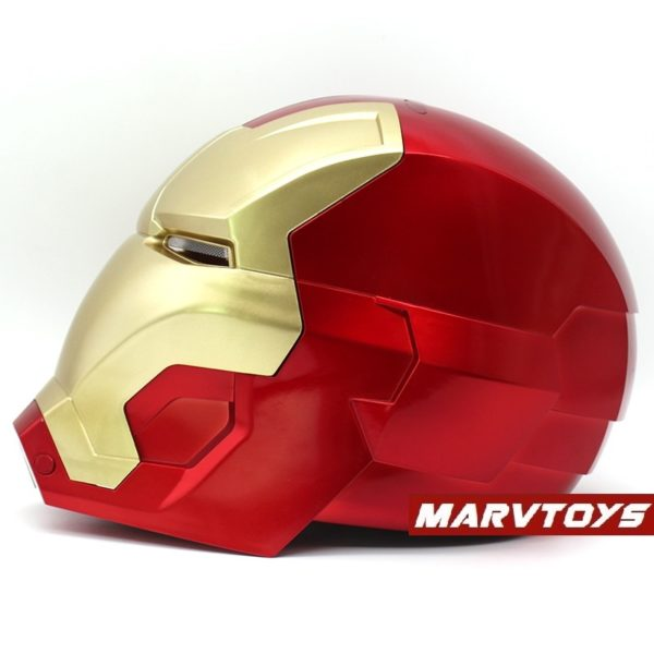 Iron Man Helmet Mask for Adult Cosplay with LED Lights and Touch Sensitive