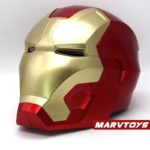 Iron Man Helmet Mask for Adult Cosplay with LED Lights and Touch Sensitive 4