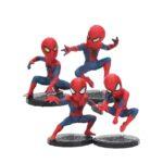 Spider Man Mini Figures Set of 4 Amazing Spiderman