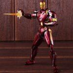 Iron Man Mark 46 Armor Action Figure Captain America Civil War Edition 6inch 1