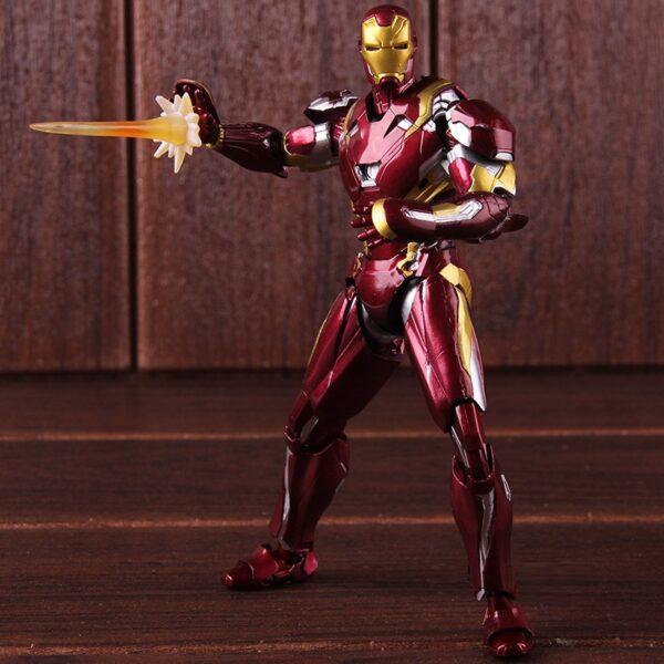 Iron Man Mark 46 Armor Action Figure Captain America Civil War Edition 6inch