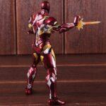 Iron Man Mark 46 Armor Action Figure Captain America Civil War Edition 6inch 6
