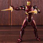 Iron Man Mark 46 Armor Action Figure Captain America Civil War Edition 6inch 7