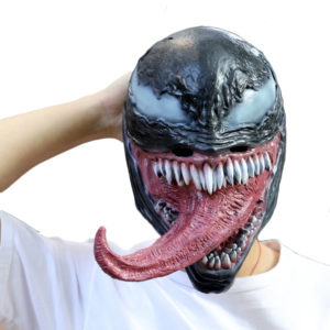 Venom 2018 Mask Edward Eddie Brock Cosplay For Adult