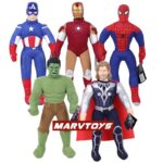 Marvel Avengers Plush Toys Captain America, Iron Man, Thor, Spiderman and Hulk 17inches 5