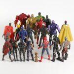 The Avengers EndGame Set of 21 Basic Action Figures4