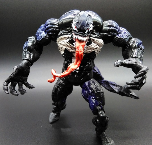 Venom Scorpion Action Figure Marvel Legends Spider Man Series Diamond