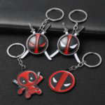 Deadpool Keychains Collection (9 Designs)