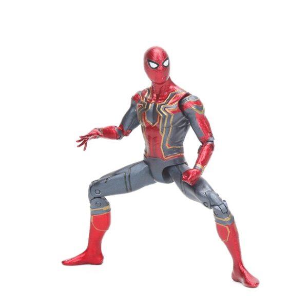Spider Man Iron Spider Suit Avengers Infinite War Movie Action Figure 6.5inch