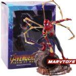 Avengers Infinity War Iron Spider Man Statue Figure 8.4Inch