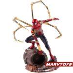 Avengers Infinity War Iron Spider Man Statue Figure 8.4Inch 6 – copia