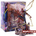 Avengers Iron Spider Man Exoskeleton Armor Statue 8.6Inch