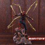 Avengers Iron Spider Man Exoskeleton Armor Statue 8.6Inch 3