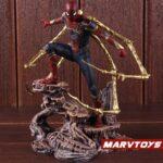 Avengers Iron Spider Man Exoskeleton Armor Statue 8.6Inch 5